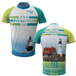 Maine Lighthouse Ride 2014 + Mens REC Cycling Jersey