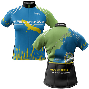 Maine Lighthouse Ride 2015 + Womens REC Cycling Jersey (ORDER UP IF WANT LOOSER)