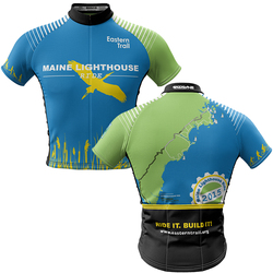 Maine Lighthouse Ride 2015 + Men REC Cycling Jersey