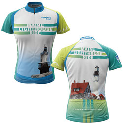 Maine Lighthouse Ride 2014 + Womens REC Cycling Jersey